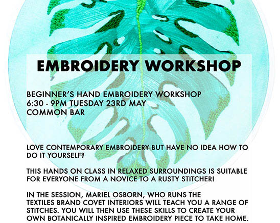 Embroidery Workshop  Common