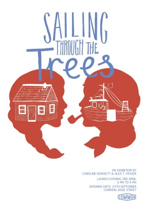Sailing Through The Trees Poster